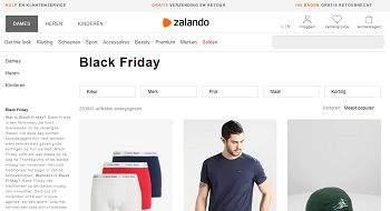 black friday zalando nl
